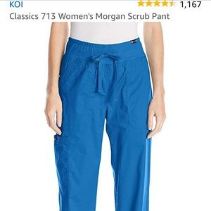 Koi 713 women's scrub pant, small tall